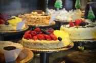 tortas de vitrine