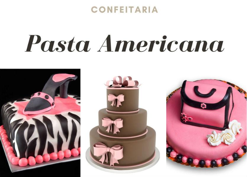 Pasta americana - decore os seus bolos com perfeição     Artigos Cursos CPT