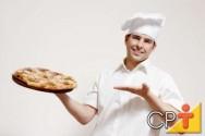 Treinamento de pizzaiolo: qualificação