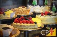Tortas de vitrine: diferença entre torta e bolo