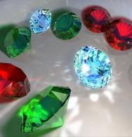 Pedras preciosas - classificação quanto à dureza, cor, transparência e pureza