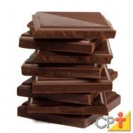 Pequena fábrica de chocolates: benefícios do chocolate