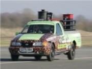 Picape Ford alcançou 110 km/h utilizando café como combustível.