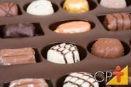 Pequena fábrica de chocolates: tipos de chocolates