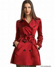 Casacos femininos - elegância e bom gosto seguindo a moda, na estação mais fria do ano