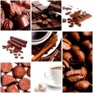 Os bombons podem ser recheados com os mais diversos recheios, do café ao licor.