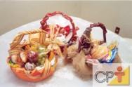 Cestas para presente: cesta de café da manhã