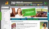 Loja virtual - comercializando os Cursos CPT de forma simples e totalmente segura