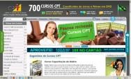 Setor de Marketing para Web do CPT - ações que visam a satisfação de nossos alunos e visitantes