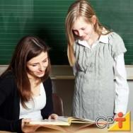 Uma conversa particular traz benefício para o aluno e crescimento individual para todos