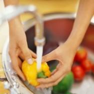 """A água contaminada pode ser uma """"fonte contaminante"""" para os alimentos"""