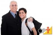 Os filhos imitam os pais e não há melhor educação que um bom exemplo