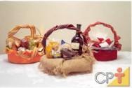 Há uma sequência básica de produção de cestas comum a quase todos os tipos