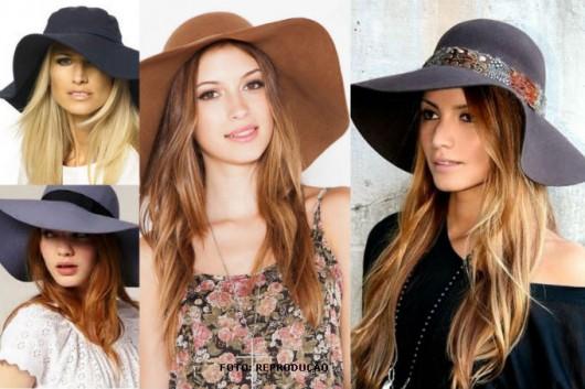 Os chapéus Floppy são os que melhor demonstram a sofisticação em mulheres 8517806ed39