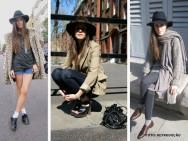 Os chapéus de feltro pedem o uso de sapatos de saltos altos e com roupa  mais alinhada 0e769165d01