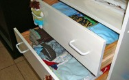 Higiene pessoal das crianças - organização das roupas