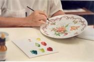 Técnicas de pintura em porcelana