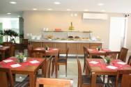 A decoração e o número de lugares também são muito importantes no restaurante