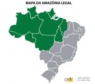 Novo Código Florestal Brasileiro - Estados pertencentes à Amazônia Legal