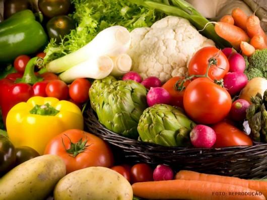 Vegetais cultivados em pequena quantidade para o consumo próprio