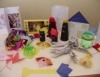 Confecção de brinquedos de sucata e dobradura enriquecem as atividades lúdicas