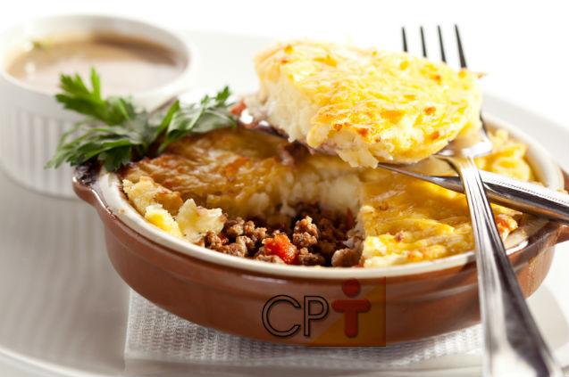 Receitas salgadas: Fricassé de Carne Moída com Requeijão   Receitas Cursos CPT