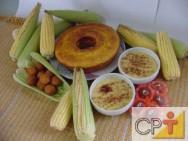 Receitas Sem Glúten: bolo de milho verde cremoso