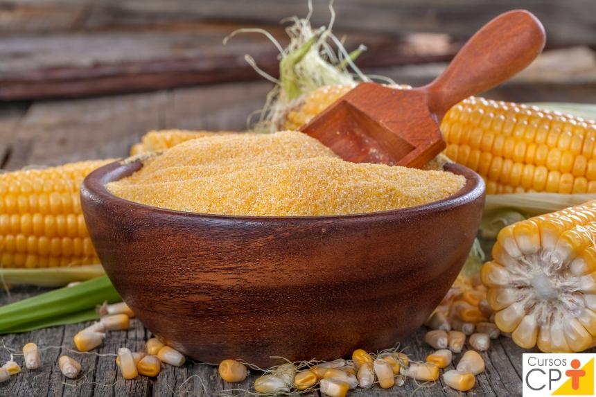 Processamento de Milho Verde: derivados do milho verde, fubá, fubá mimoso e semolina