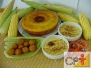 Processamento de Milho Verde: mingau de milho verde
