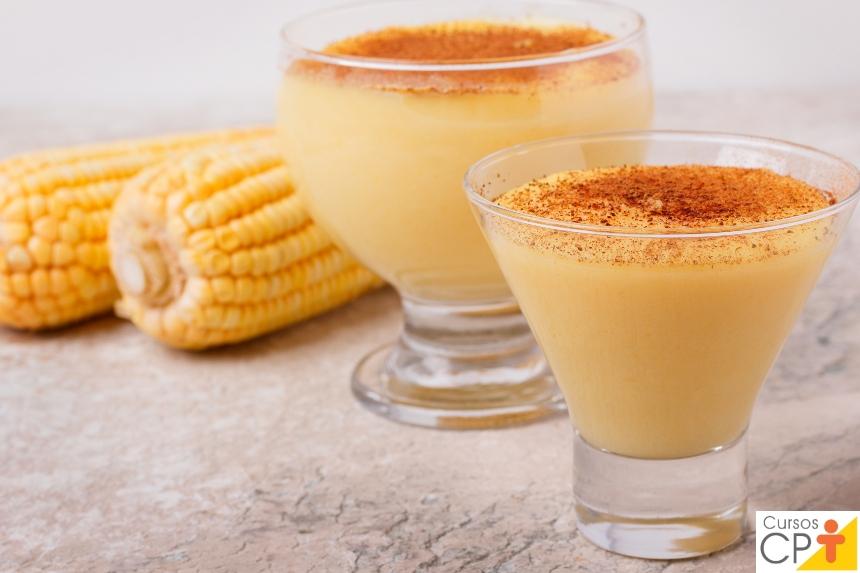 Processamento de Milho Verde: mingau de milho verde   Receitas CPT