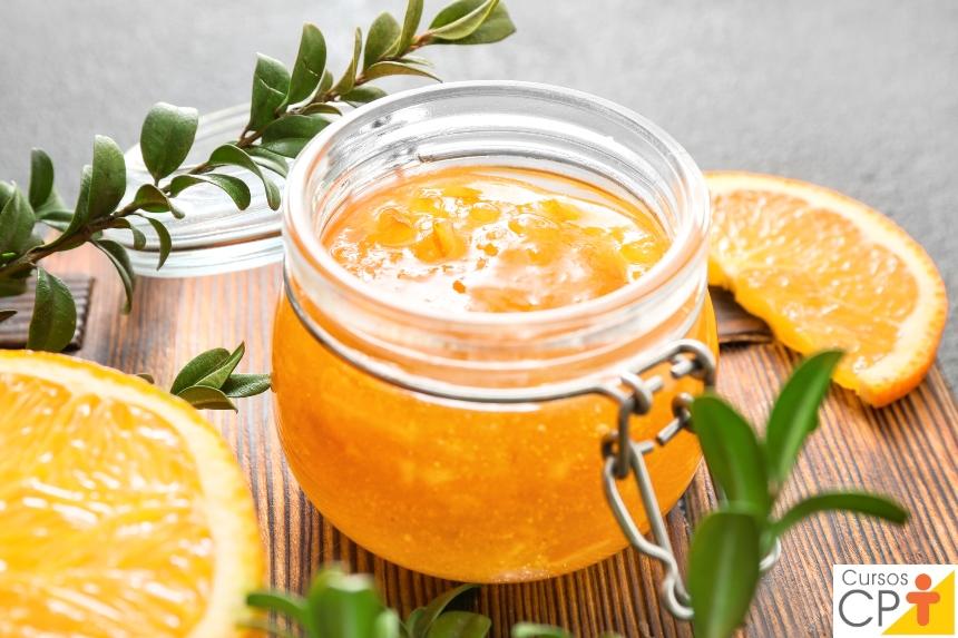 Doces em Calda e Compotas: doce de laranja-da-terra em calda   Artigos CPT