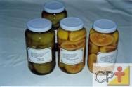 Doces em Calda e Compotas: doce de laranja-da-terra em calda