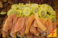 Frutas Cristalizadas: a fruta cristalizada