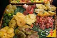 Frutas Cristalizadas: abóbora cristalizada