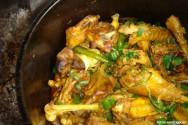 Culinária - receita de Cozido de Galinha com Molho de Salsa