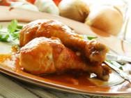 Culinária - receita de Frango com Cebola Queimada