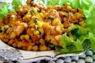 Culinária - receita de Frango com Milho Verde