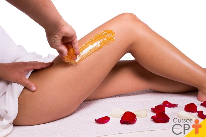 Técnicas de depilação - cera quente   Artigos CPT