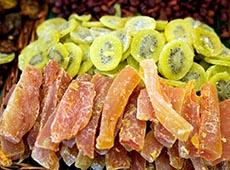 Como Produzir Frutas Cristalizadas