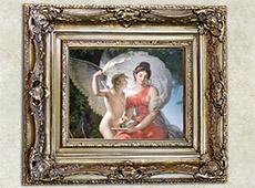 Pintura Decorativa em Molduras e Fabricação de Telas e Painéis