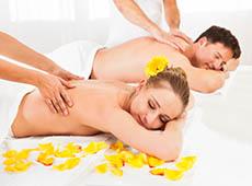 Massagem Relaxante e Terapia com Pedras Quentes