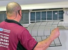 Manutenção de Condicionador de Ar Split