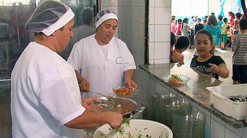 Merendeira Escolar - Cozinheira Escolar