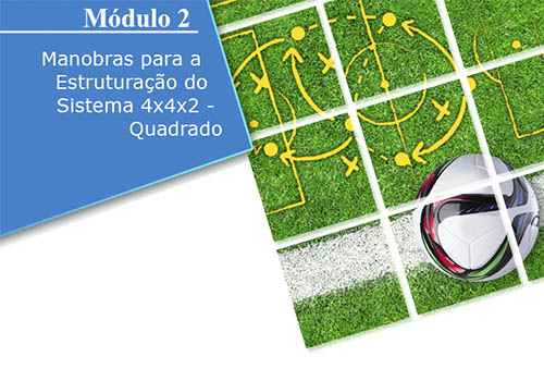 Treinamento Avançado no Futebol - Sistemas 4x4x2 e 3x5x2