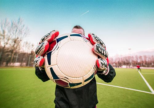 Aquecimento no Futebol - Goleiro
