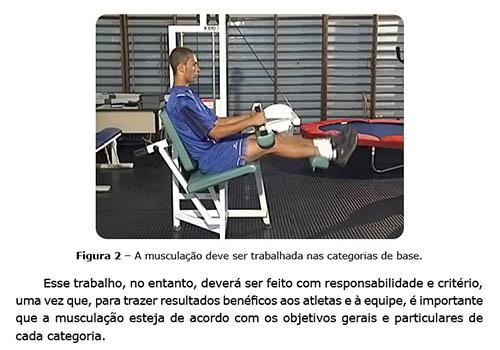 Preparação Física no Futebol Aplicada as Categorias de Base - Musculação