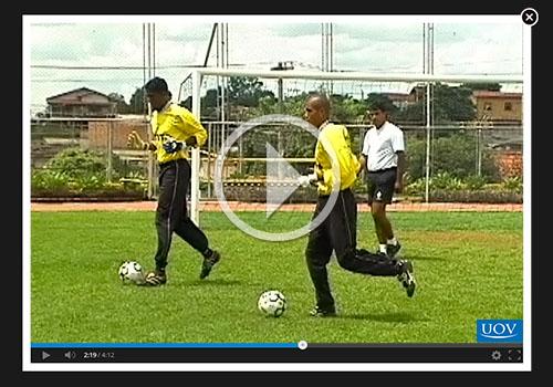 Curso Online Aquecimento no Futebol - Goleiro - Cursos Online UOV ... 9f6b44c62e1c6