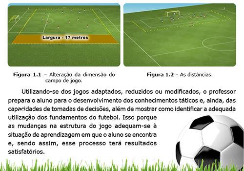 Futebol - Estratégias com Jogadas Adaptadas no Campo