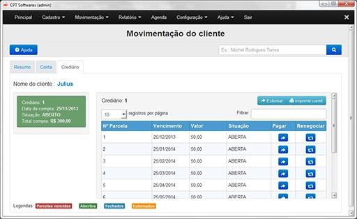 eac315e63d9 CPT Loja de Roupas e Calçados - Software para Gerenciamento de Loja ...