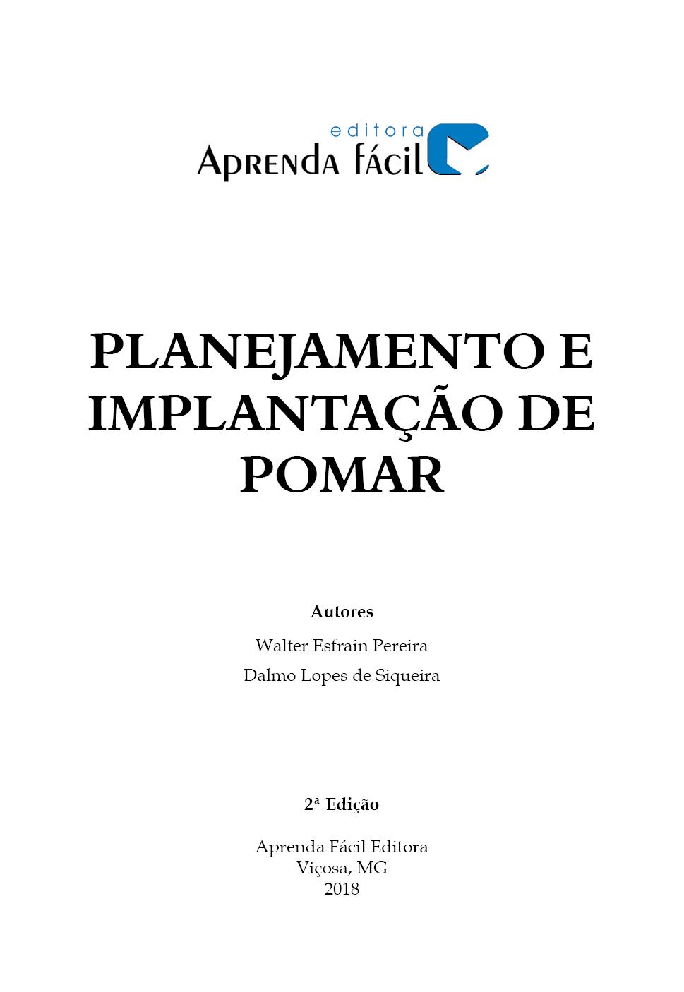Planejamento e Implantação de Pomar